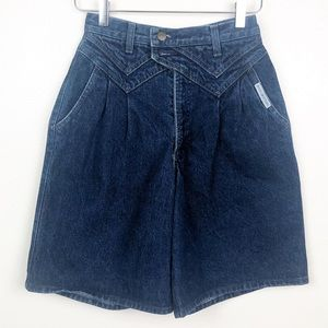VINTAGE l Rocky Mountain High Waisted Jean Shorts